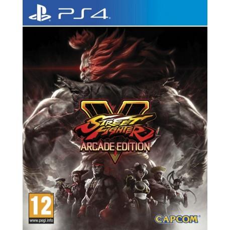 Gra Ps4 Street Fighter V Arcade Edition