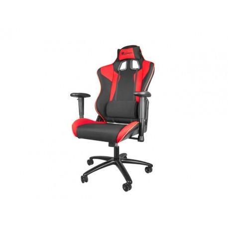 Fotel gamingowy NATEC Genesis Nitro 770 czarno-czerwony NFG-0751 ( czerwony )
