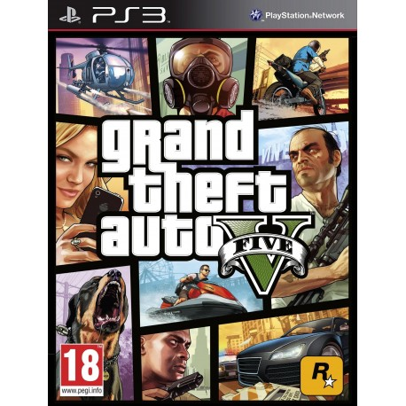 Gra Ps3 Grand Theft Auto V