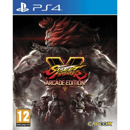 Gra Ps4 Street Fighter V Arcade Edition