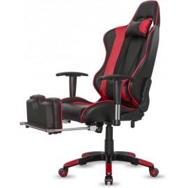 Fotel gamingowy IBOX Aurora GT1 Gaming GT1CZARNY/CZERW ( czerwony )